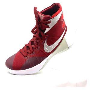 Nike Hyperdunk 2015 Basketball Shoe Red White Slvr